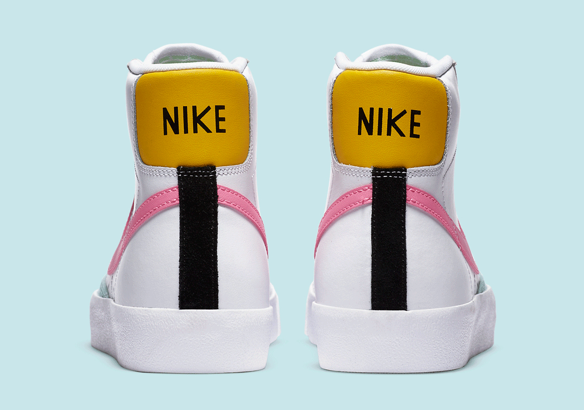 Nike Blazer Mid '77 Pink Glow DA4295-100 Release - Crumpe