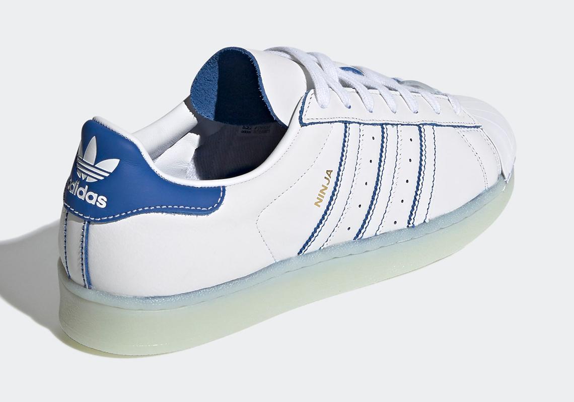 Ninja obtient ses propres chaussures Adidas Superstar et