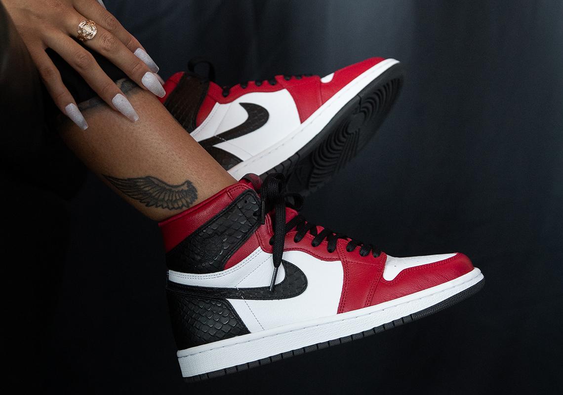Sac de basket Titolo Air Jordan 1 Satin Red - Crumpe