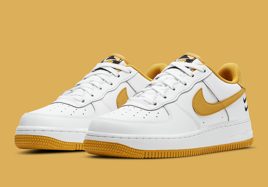 air force 1 jaune et blanche