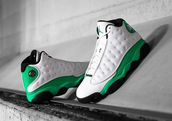 Release Reminder – Air Jordan 13 Retro 'Lucky Green'