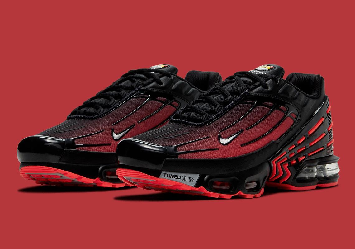 Nike Air Max Plus 3 Radiant Rouge Noir CT1693-002 - Crumpe