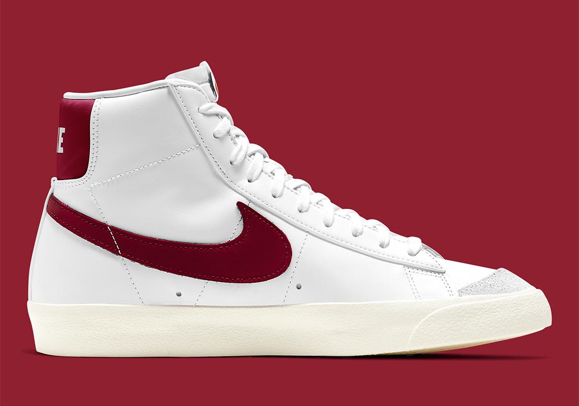 Nike Blazer Mid '77 Blanc Team Rouge BQ6806-111 - Crumpe