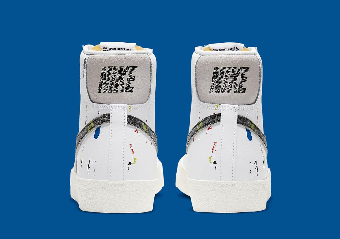 Nike Blazer Mid Paint Splatter DC7331-100 Infos de sortie - Crumpe