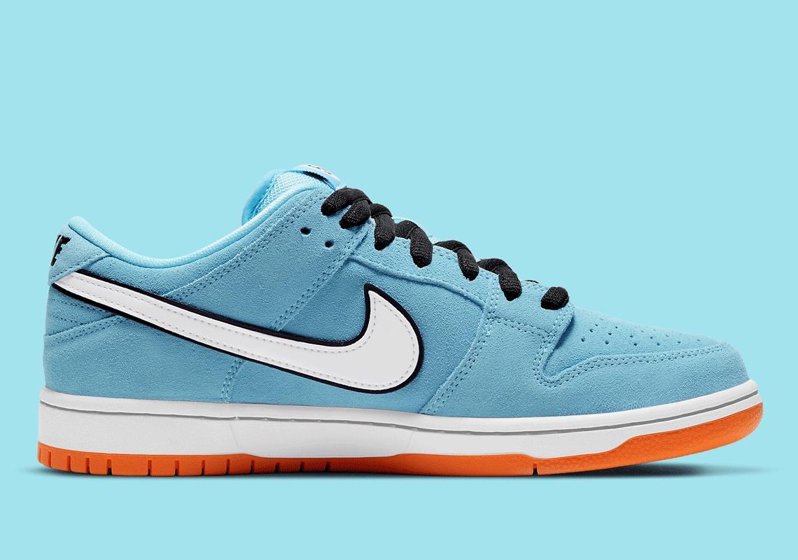 Nike SB Dunk Low Gulf Bleu Orange BQ6817-401 - Crumpe