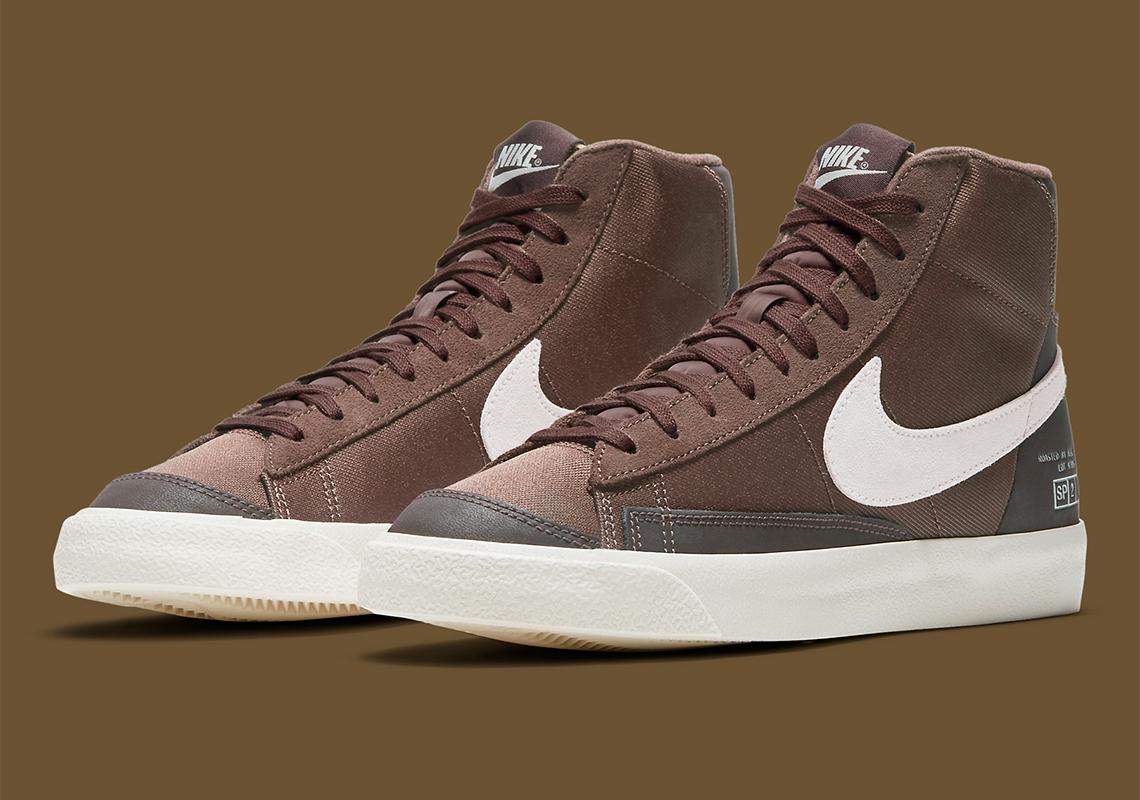 Nike Blazer Mid 77 Café DD5332-244 - Crumpe