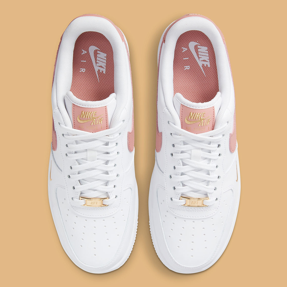 Nike Air Force 1 Low Blanche / Rouille Rose CZ0270-103 – Crumpe