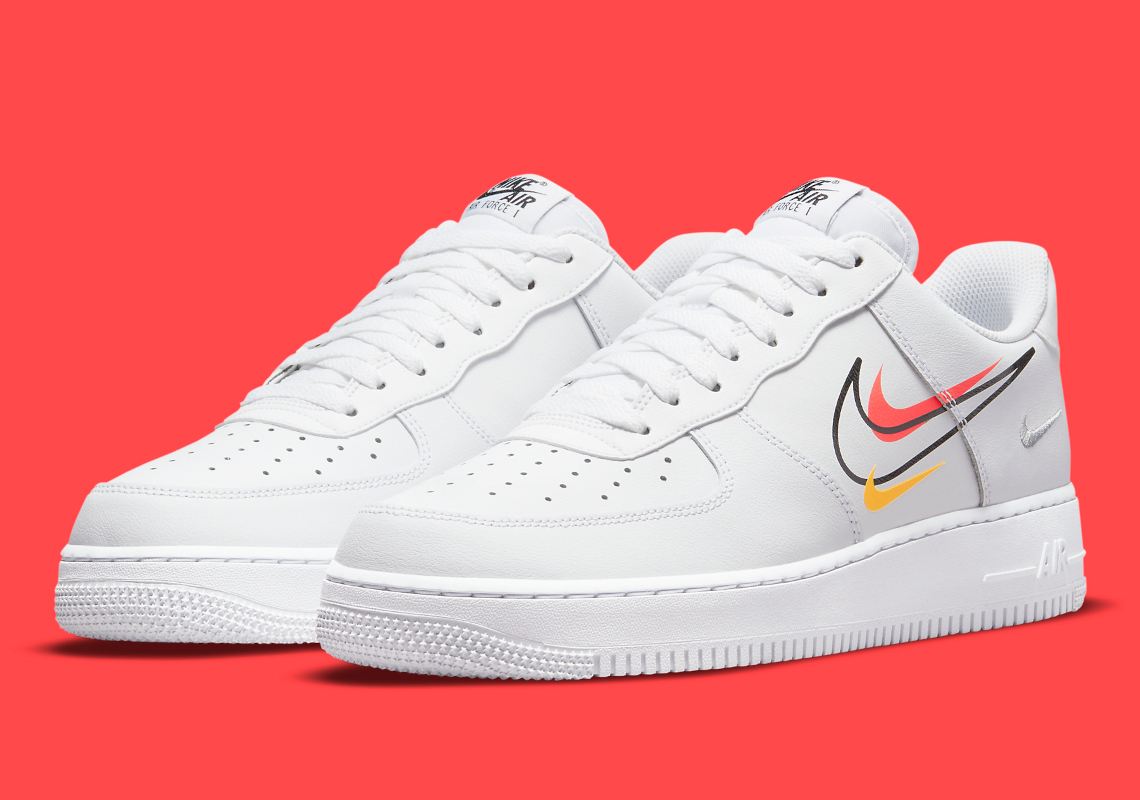 Nike Air Force 1 Low MultiSwoosh Blanche DM9096-100 - Crumpe