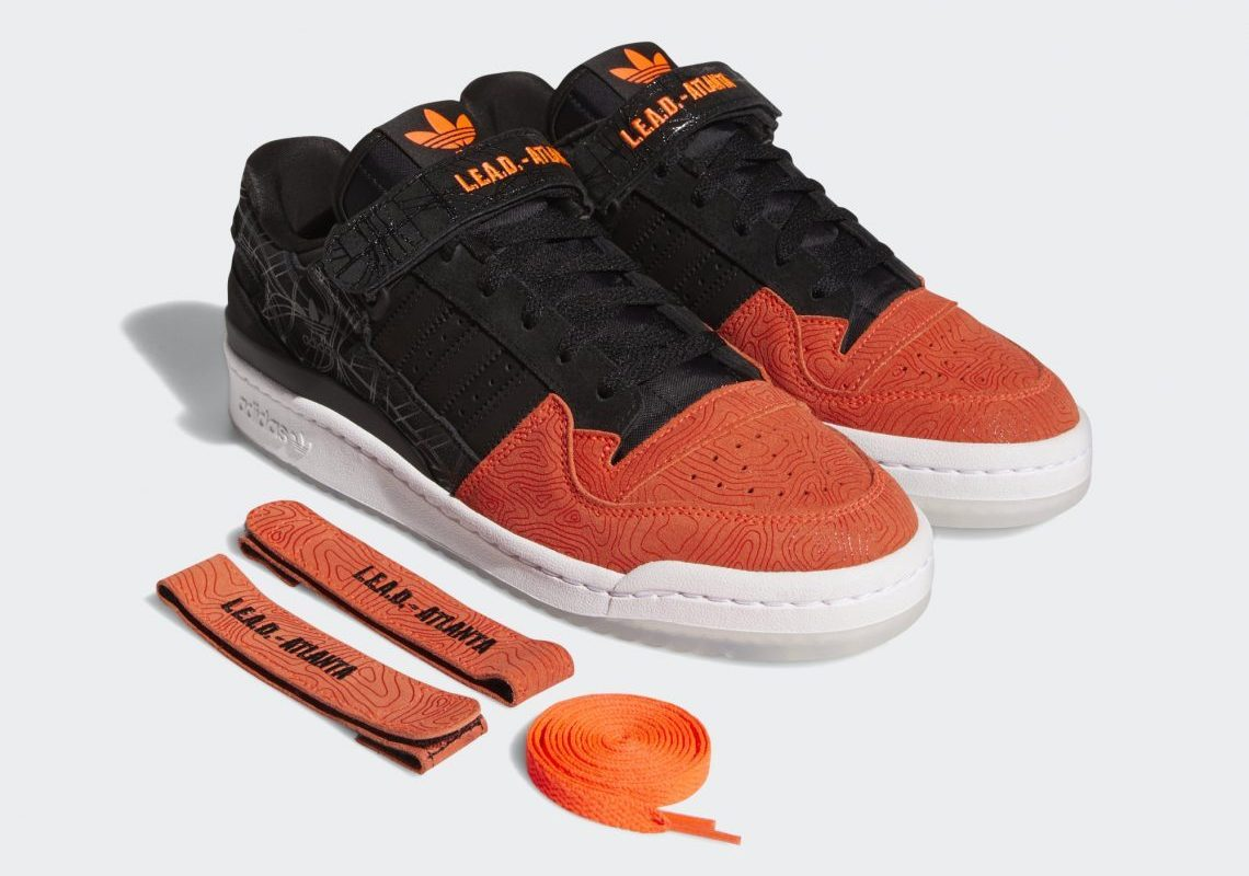 adidas Forum Lo L.E.A.D. Atlanta Core Black GZ6604   SneakerNews.com