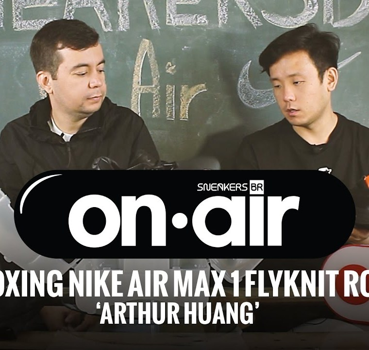 SneakersBR OnAIR Vol. 14 – Unboxing Do NikeLab Air Max 1 'Arthur Huang'