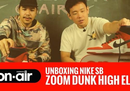 SBRonAIR Vol. 25 – Fizemos Unboxing Do Novo Nike SB Dunk High Elite