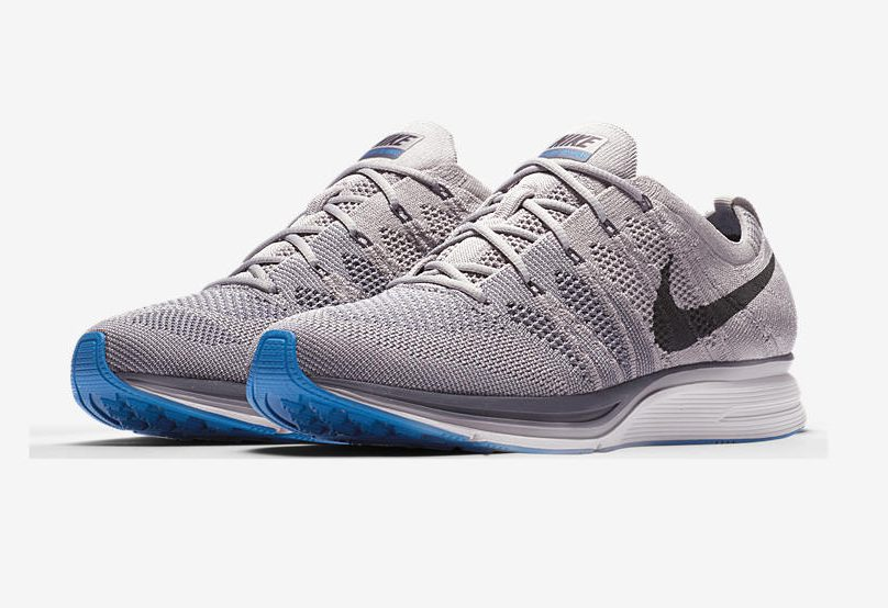 release date nike flyknit trainer thunder grey