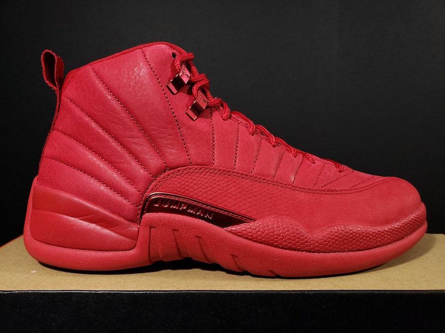 Release Date: Air Jordan 12 'Gym Red