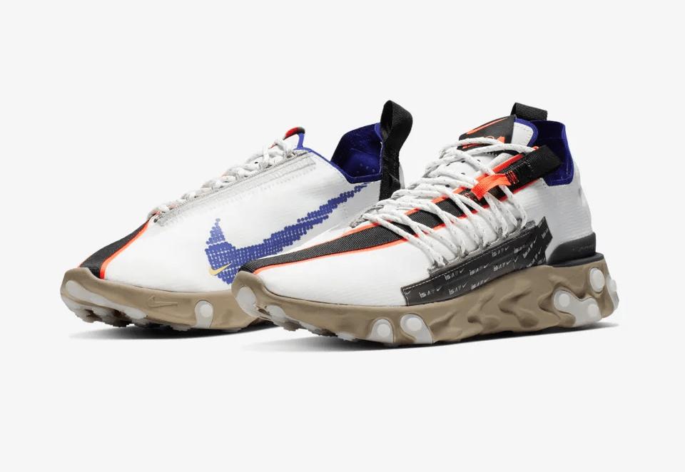 Release Date: Nike ISPA React Low 'Summit White/Deep Royal Blue'