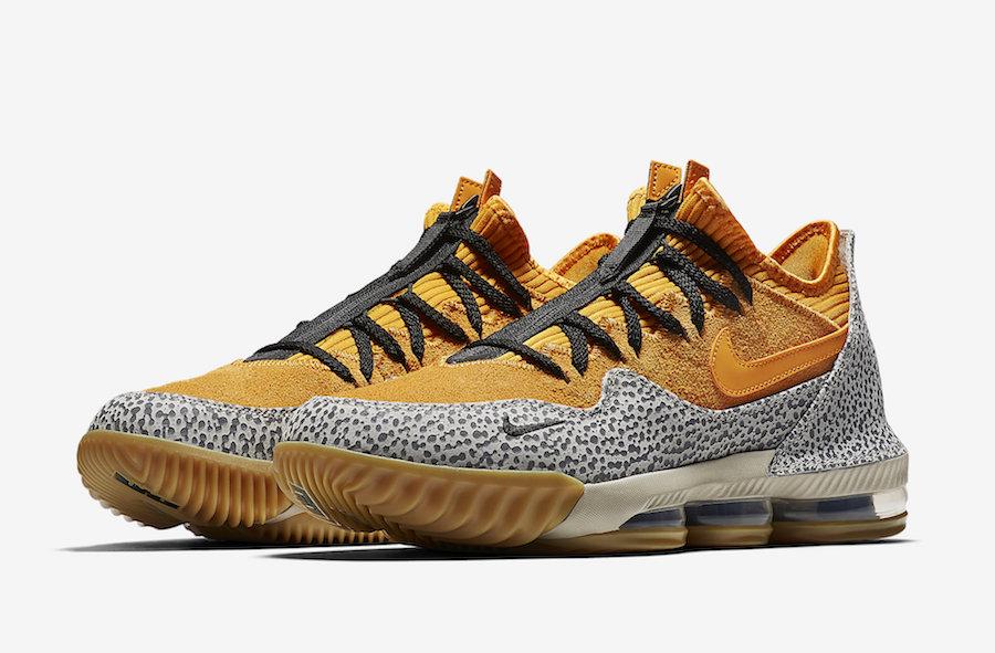First Look: Nike LeBron 16 Low 'Safari'