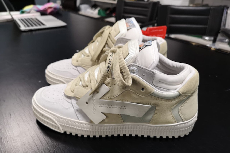"""First Look: Off-White 3.0 """"Off-Court Lows"""" 'White/Tan'"""