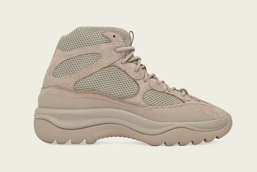 Release Date: adidas Yeezy Desert Boot 'Rock'