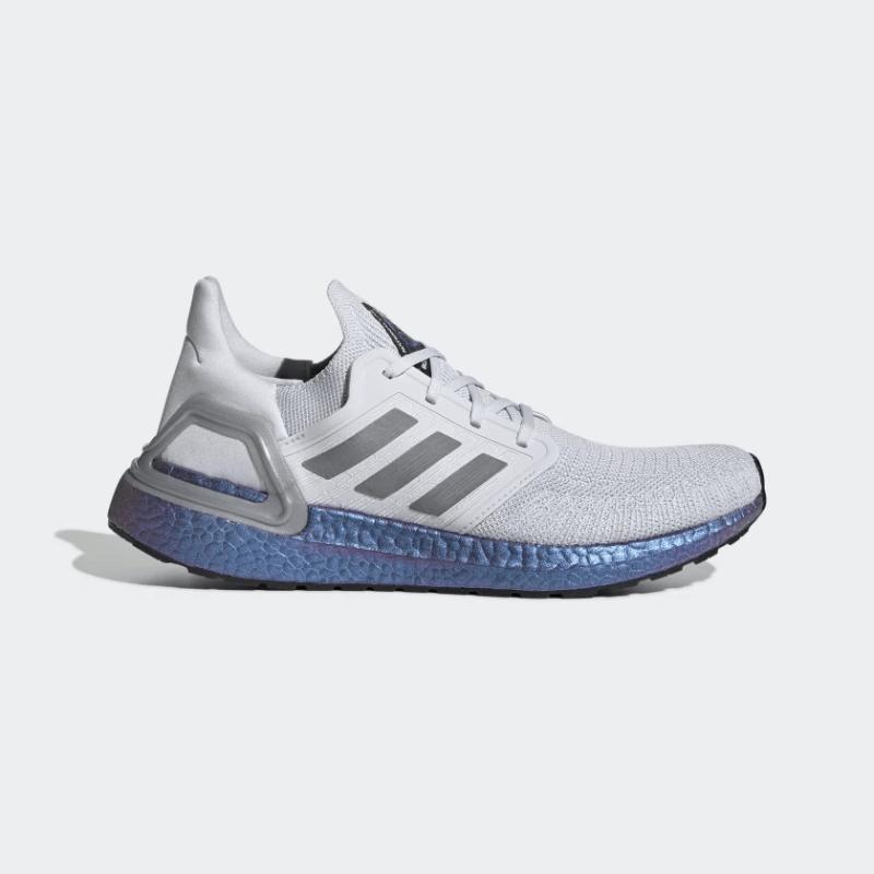 adidas UltraBOOST 20 Dash Grey/BOOST Blue Violet