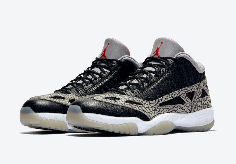 Air Jordan 11 Low IE Black/Cement