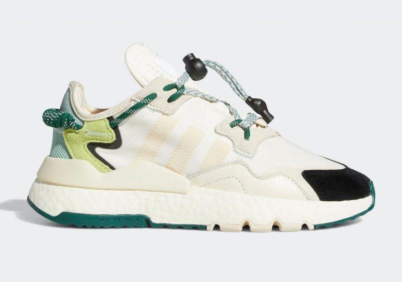 Ivy Park x adidas Nite Jogger Off White Dark Green