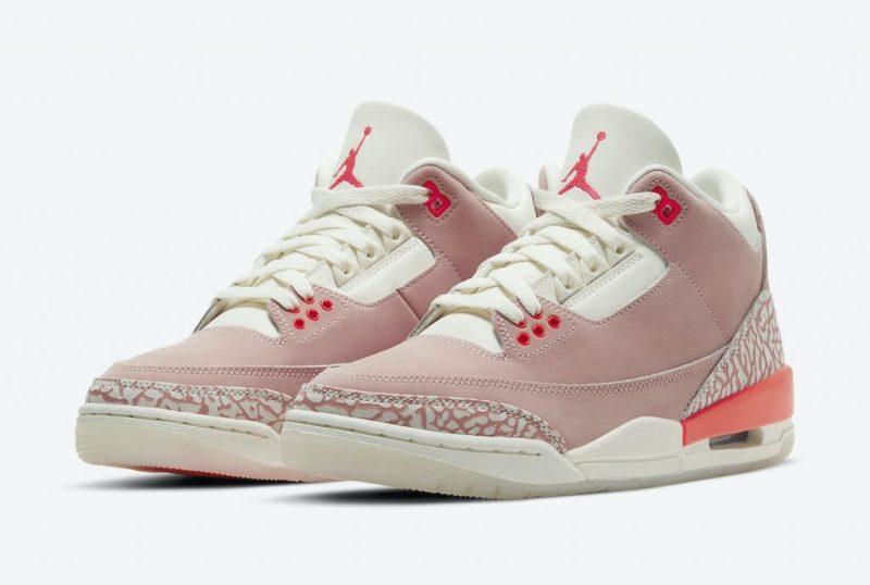Women's Air Jordan 3 Rust Pink