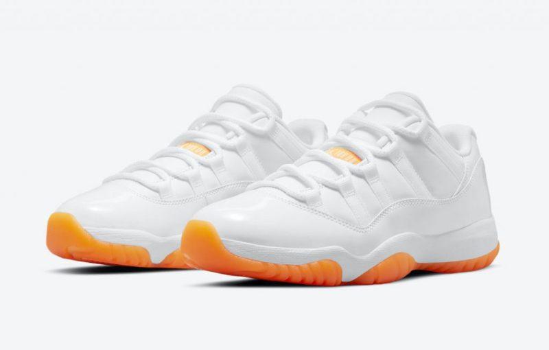Women's Air Jordan 11 Low Citrus