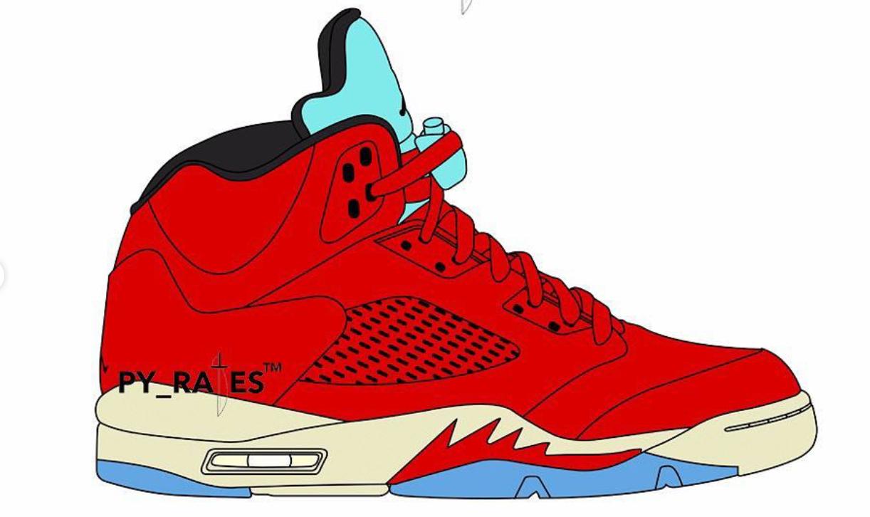 reputable site afaf3 b8251 Trophy Room and Jordan Brand collaborates on Air Jordan 5 in ...