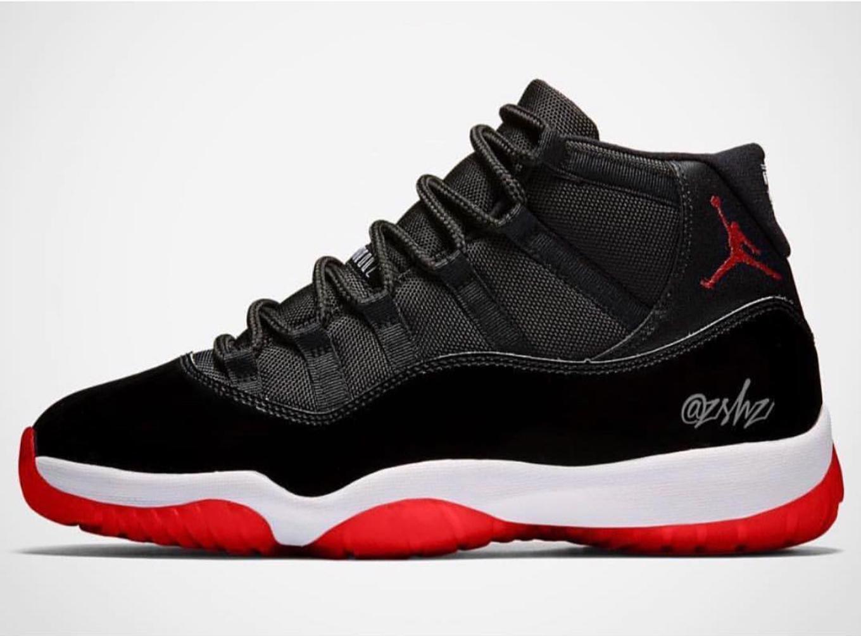buy online bb818 94e72 Black/Red Air Jordan 11 is rumoured 2019 Holiday Jordan ...