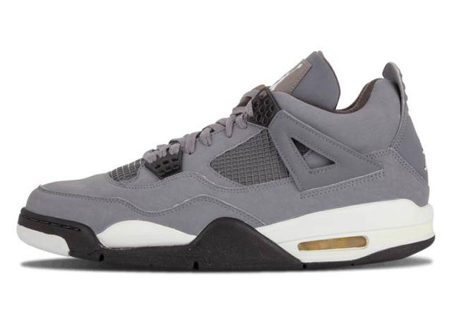 73e88812dcf4 Air Jordan 4. Cool Grey Chrome-Dark Charcoal-Varsity Maize 308497-007  190. August  3