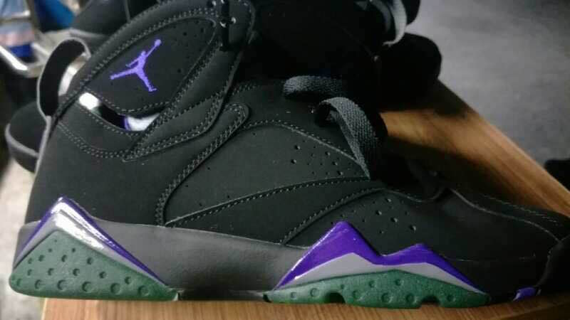 "addf02d89ad8 First Look  ""Ray Allen"" Air Jordan 7"