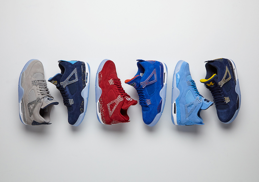 3506da4ecf1583 Jordan Brand unveils Air Jordan 4 and Jordan Why Not Zer0.2 college team PEs
