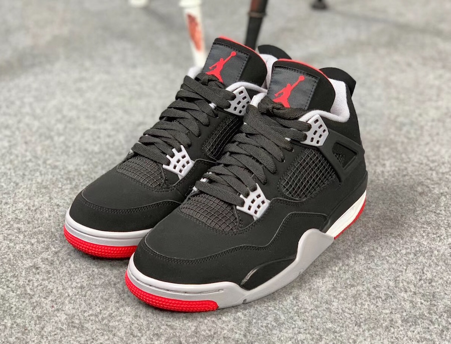 01bfa1fde4acdf Black and Red Air Jordan 4 release date change. March 18 ...