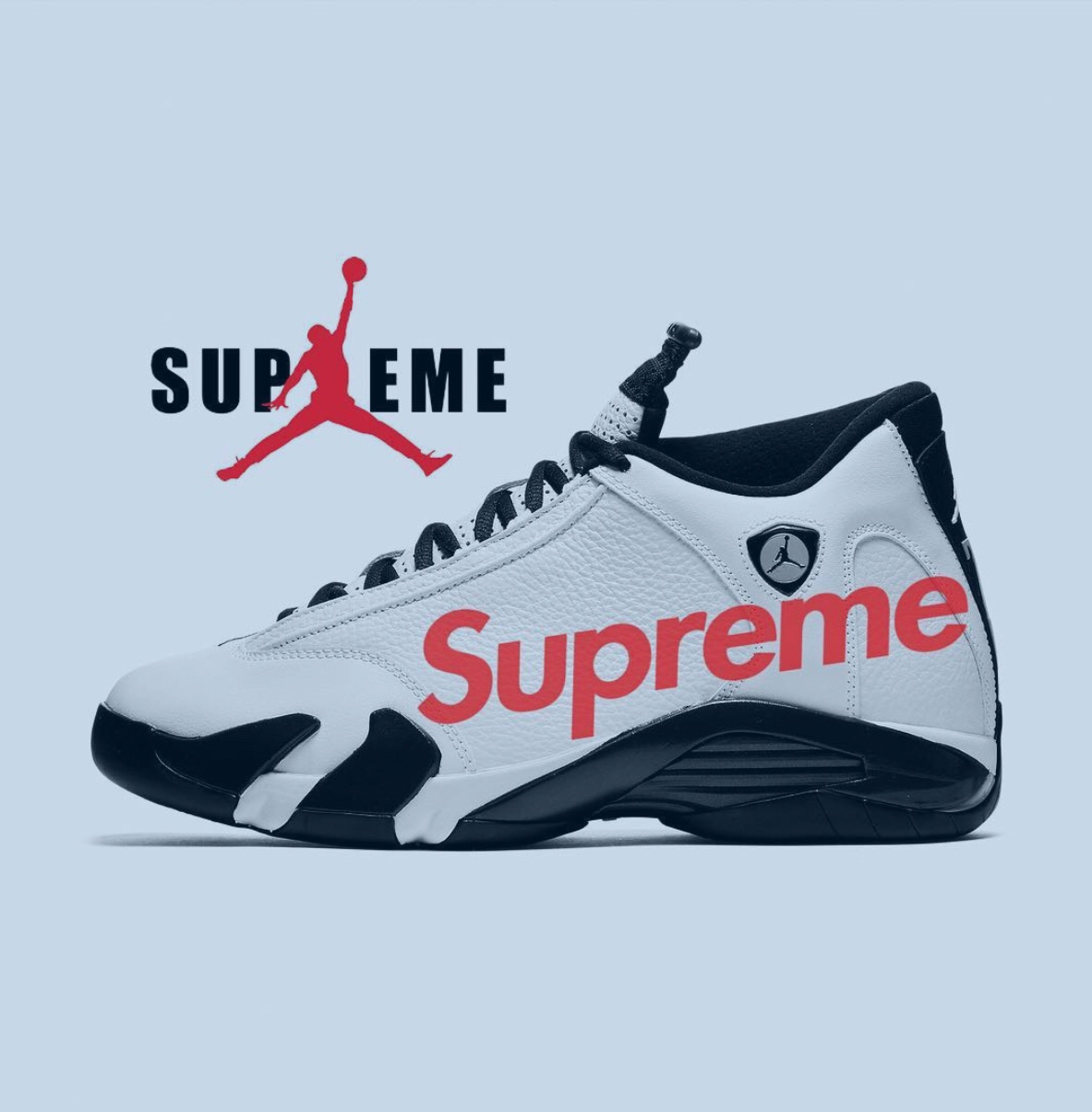 online store ea60a 47bd7 Two Supreme x Air Jordan 14 colorways rumoured to come ...