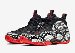 """Snakeskin"" Nike Air Foamposite One Official Images"