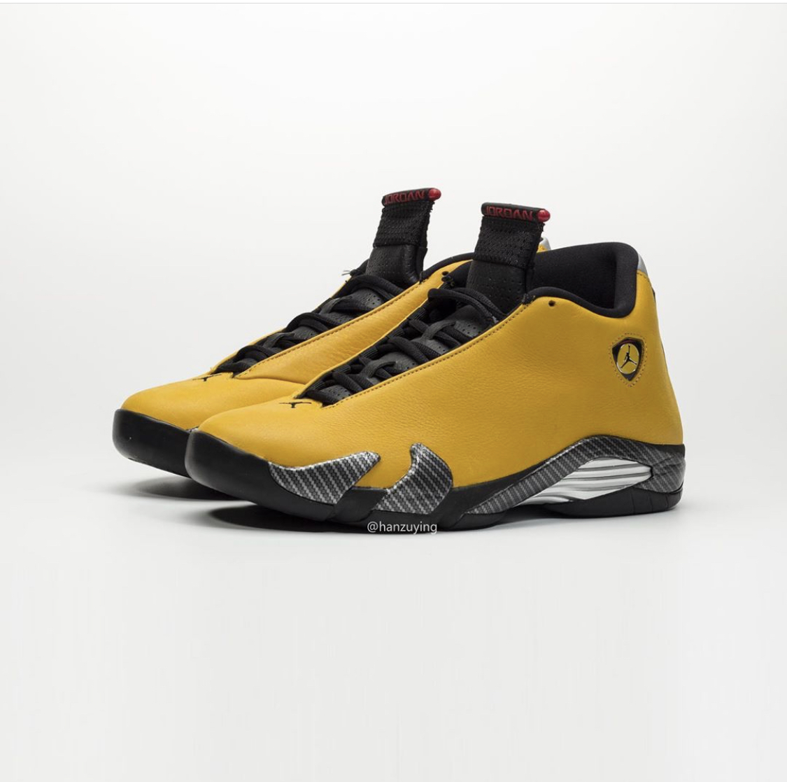 "Another Look At The ""Reverse Ferrari"" Air Jordan 14"