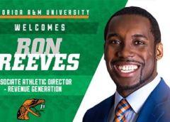 FAMU announces Ron Reeves as Associate AD for Revenue Generation