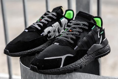 "adidas Originals Nite Jogger 3m ""Core Black"" .82 Shipped"