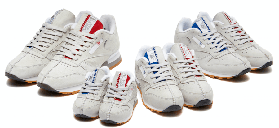 Kendrick Lamar Reebok Classic Leather Family Collection