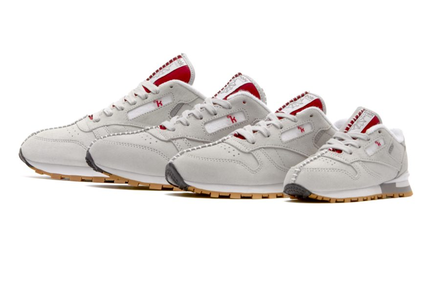 Kendrick Lamar x Reebok Classic Leather Family Red side