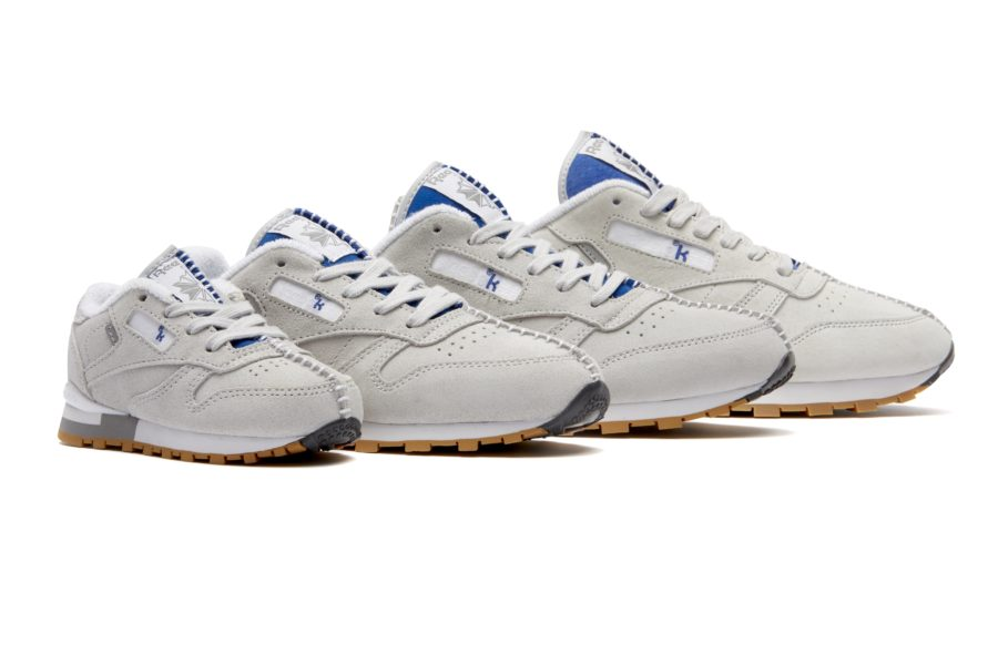 Kendrick Lamar x Reebok Classic Leather royal blue side