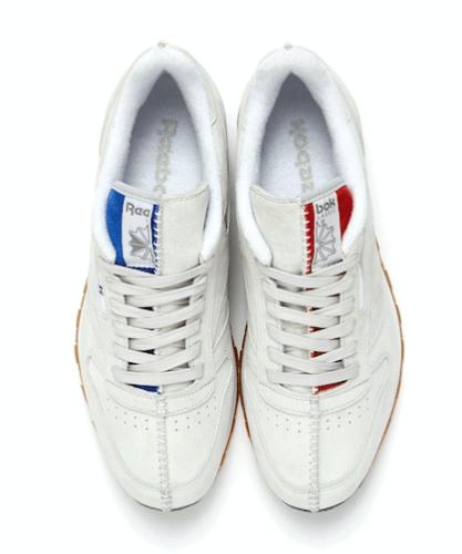 Kendrick Lamar Reebok Classic Leather top view pair