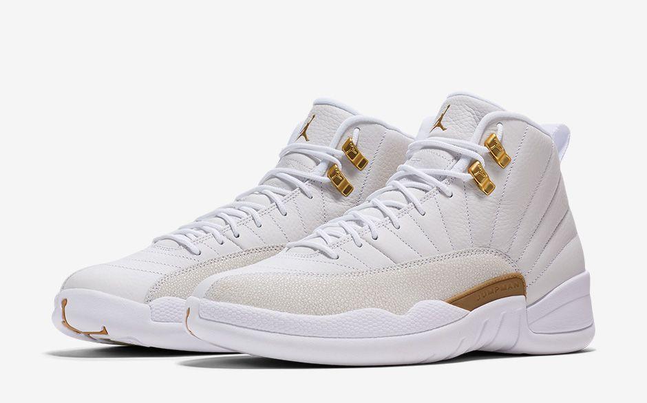 Air Jordan 12 Retro White/Yellow