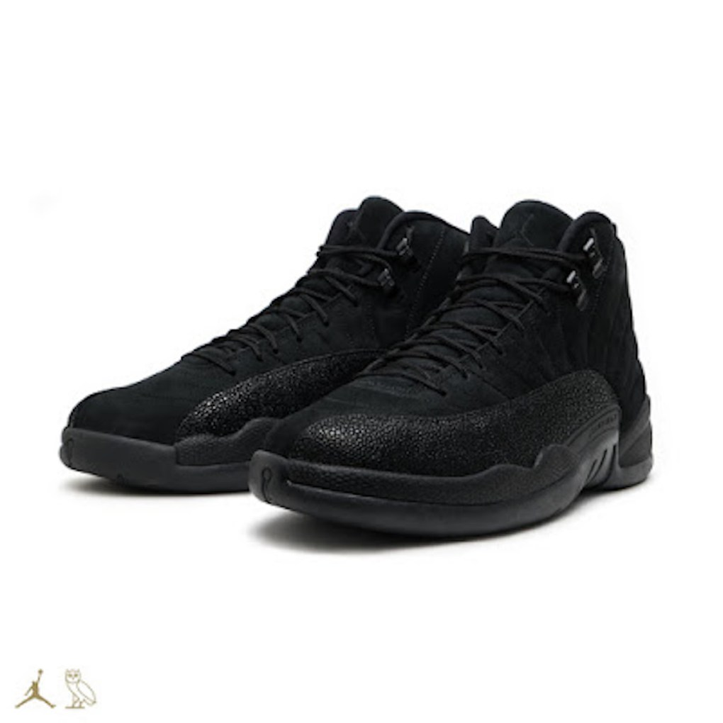 OVO Air Jordan 12 pair