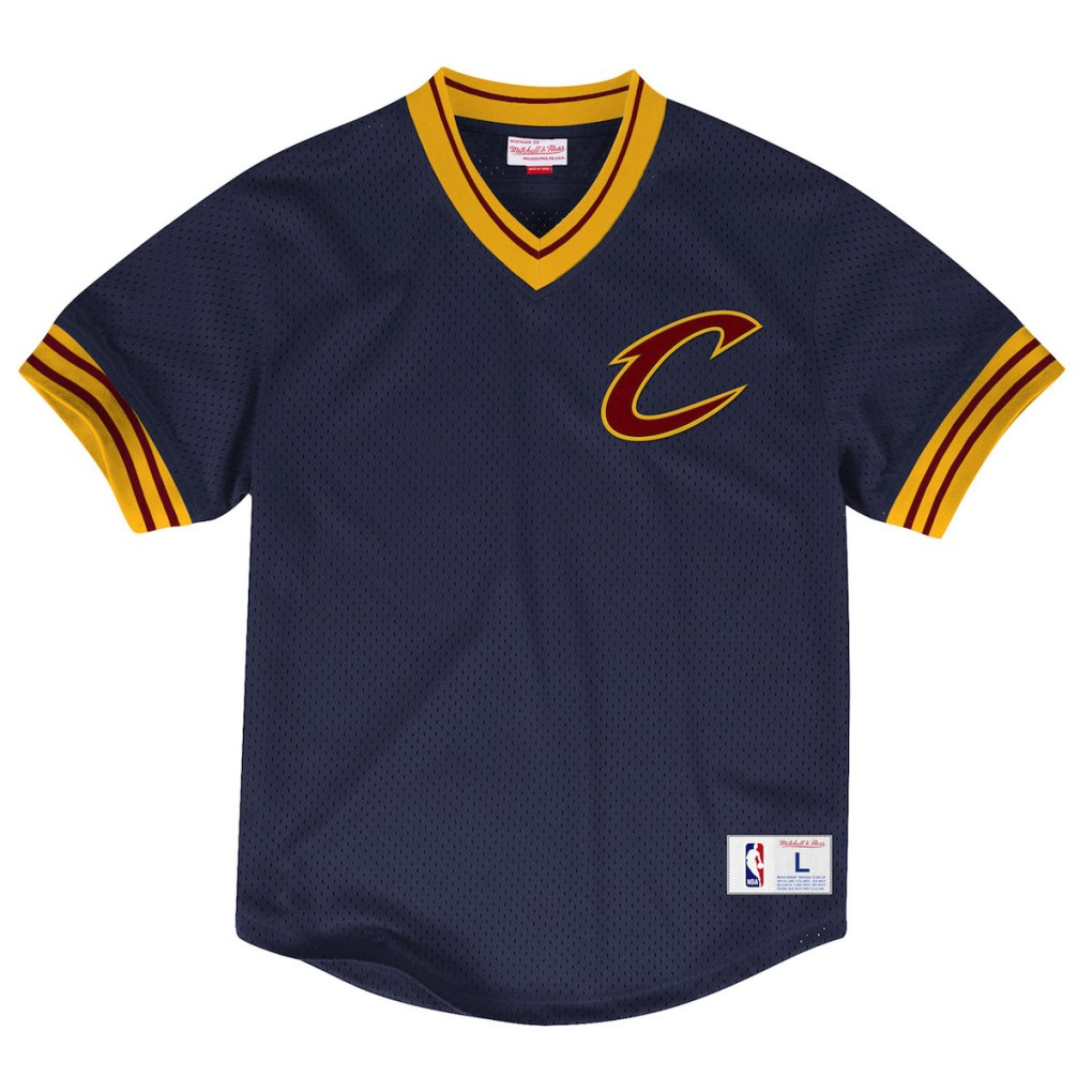 Mitchell & Ness x Bloomingdales Capsule Collection cavs tee