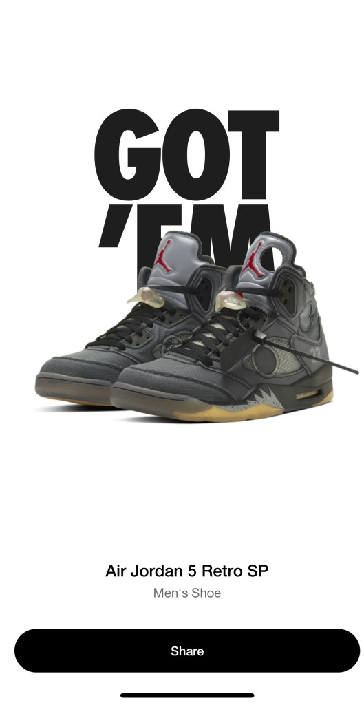Jordan 5 Off White Virgil Abloh