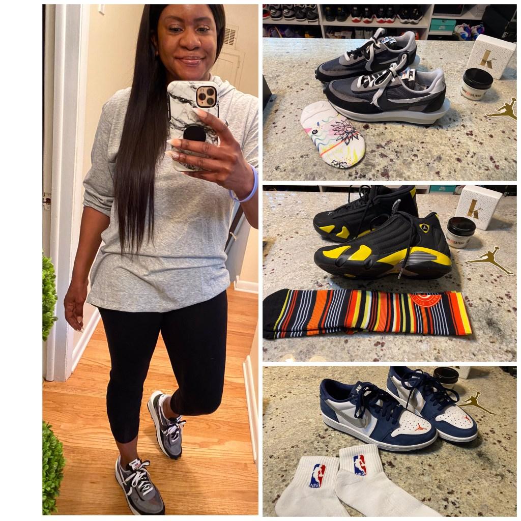 Sneakers. Women. Foodie