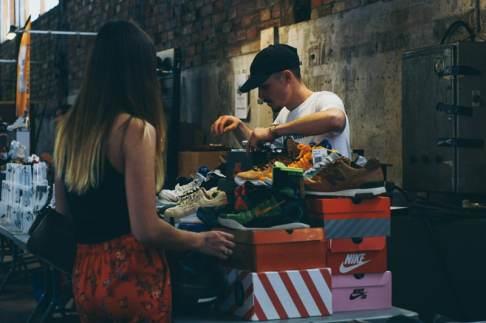 événement sneakers Lâche-moi les Baskets