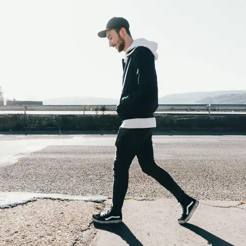 How To Wear High Top Sneakers With Mens Jeans