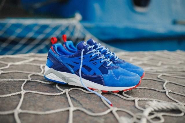 Asics athletic shoe