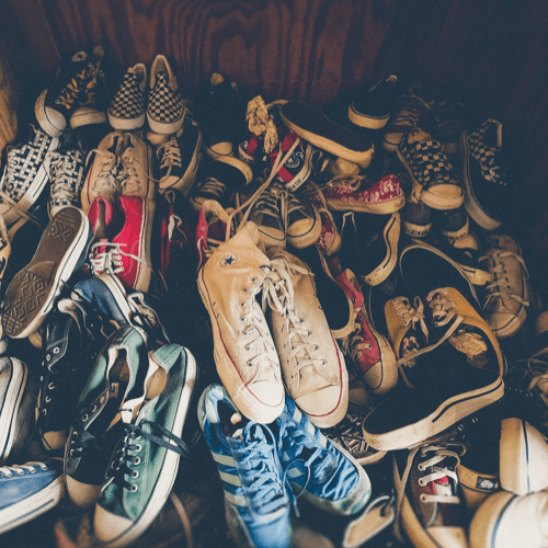 alot of shoes